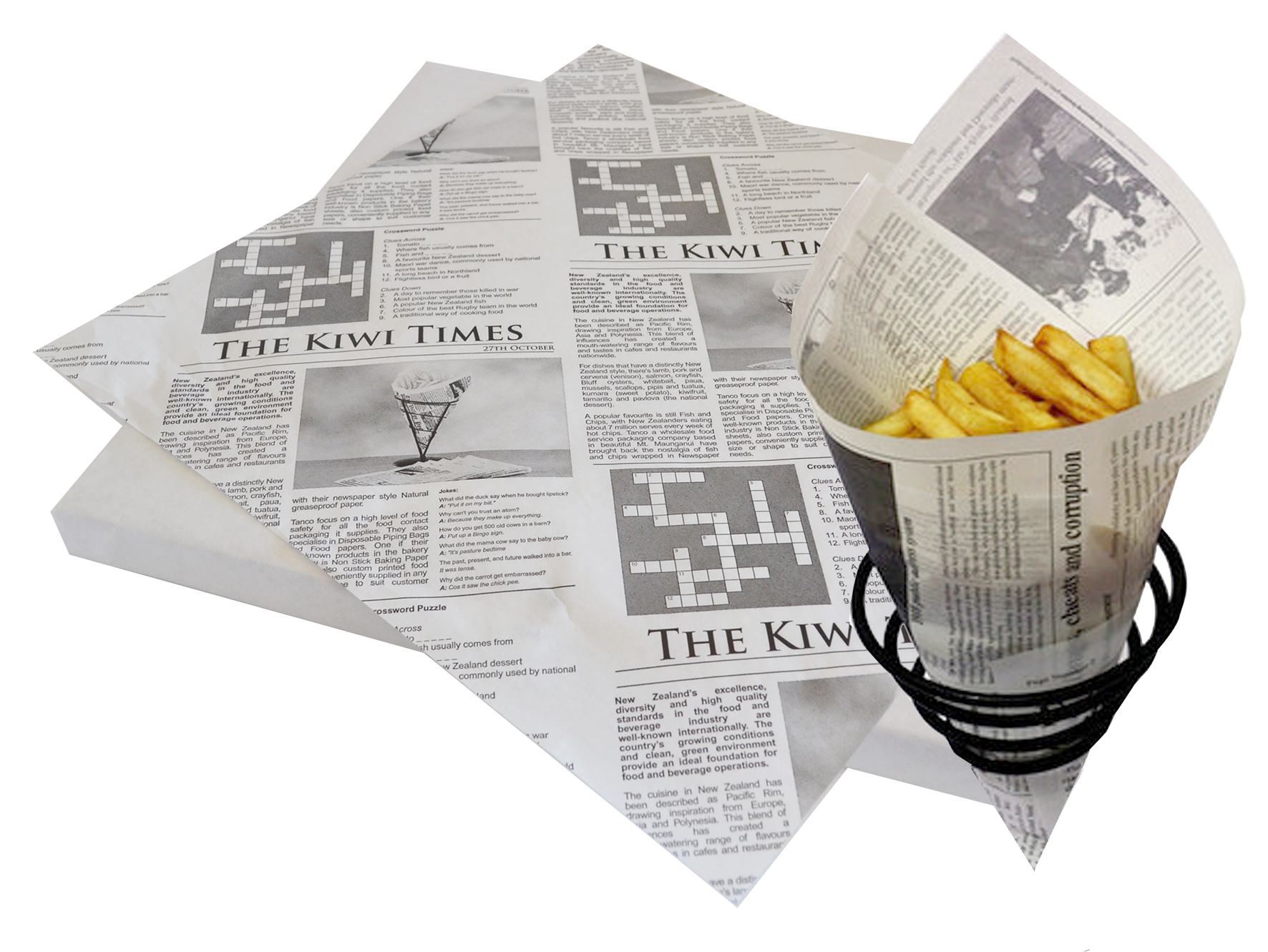 Kiwi Times Greaseproof Paper Commercial Kitchen Supplies