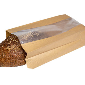 Bakery Paper bag with paper window