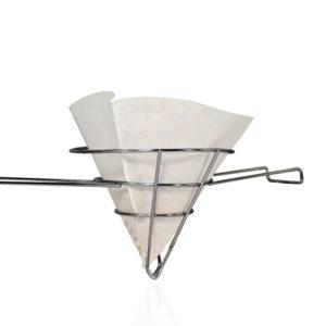 Oil filter cone frame