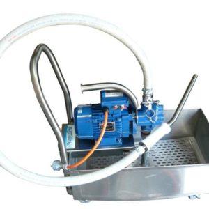 Blue Gizmo Oil Filter Machine