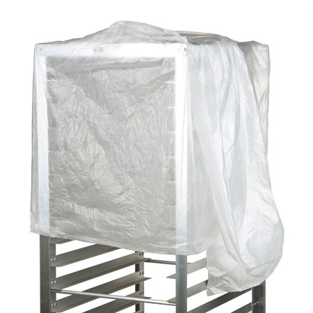 Disposable rack cover for baked goods