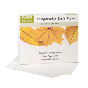 Compostable Scale Paper